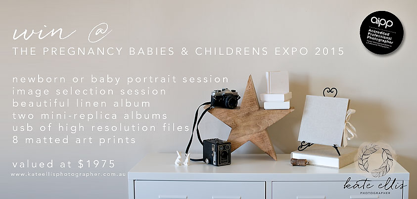 Pregnancy Babies & Children's Expo | Adelaide Newborn Photographer