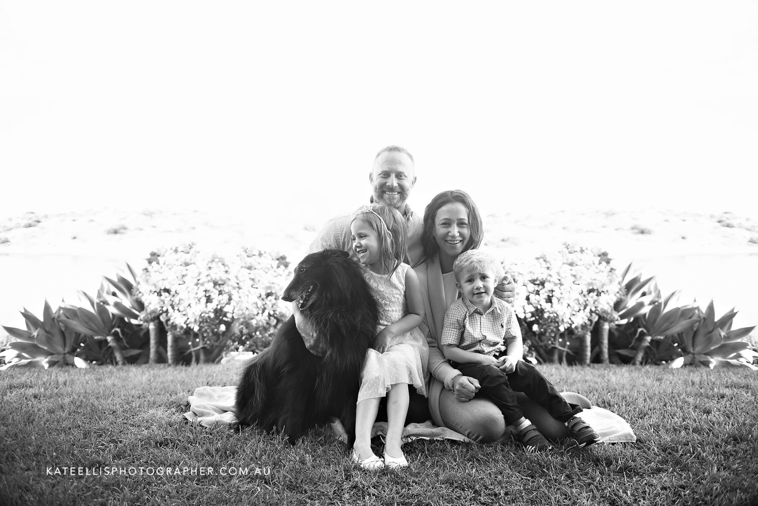 Freya, Toby & Esme the dog | Adelaide Family Photographer